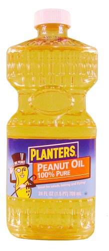 Planters Peanut Oil In Plastic, 24 Ounce - 12 Count