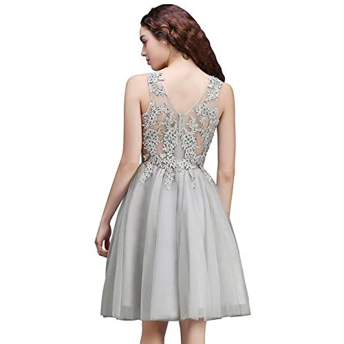 3da621a91 good Babyonlinedress Vestido corto de fiesta de noche y para bodas vestido  A line y elegante