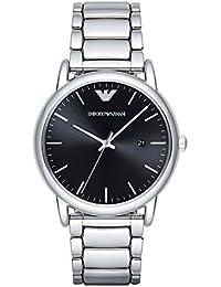 Mens AR2499 Dress Silver Quartz Watch. Emporio Armani