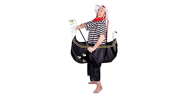 Disfraz de Gondolero para hombre: Amazon.es: Juguetes y juegos