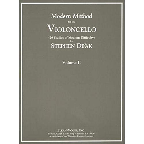 Modern Method for the Violoncello, Volume ()