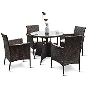 41CZIdcaRZL._SS300_ Wicker Dining Tables & Wicker Patio Dining Sets