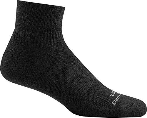 Darn Tough Tactical Quarter Cushion Socks ( T4088 ) Unisex (Black, Medium)