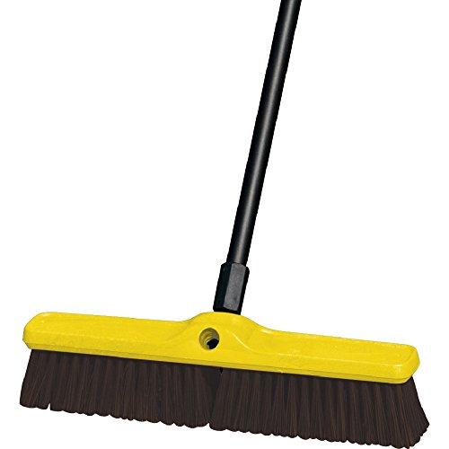 Rubbermaid Commercial FG9B1500MARN Coarse Polypropylene and Polystyrene Heavy-Duty Floor Sweep, Maroon (Block Sweep Duty Floor Heavy)