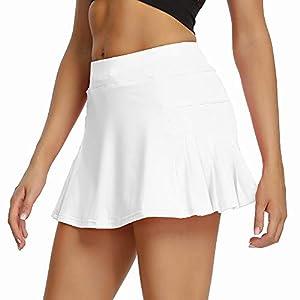 חצאיות גולף לנשים עם מכנסיים קצרים מובנים רק באתר tennisnet !
