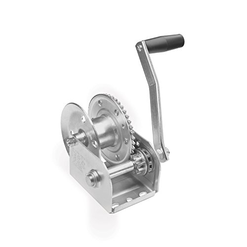 Fulton 143001 Single Speed Brake Winch-1000 Lbs. Capacity