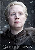 Ata-Boy Game of Thrones Brienne of Tarth 2.5' x 3.5' Magnet for Refrigerators and Lockers