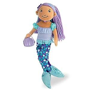 Manhattan Toy 122090 Groovy Girls - Muñeca sirenita Maddie con vestido de baile