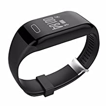 Taonology Smart Bracelet H3 Wristband Heart Rate Monitor Bluetooth 4.0 Passometer Sports Fitness Tracker Smartband For IOS Android