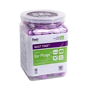Flents Quiet Time Ear Plugs (50 Pair) NRR 33