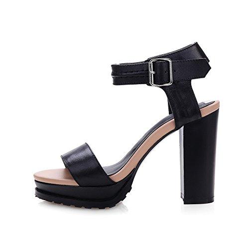 De Mujer Vestir Para Negro Sandalias Adee aqw75Aq