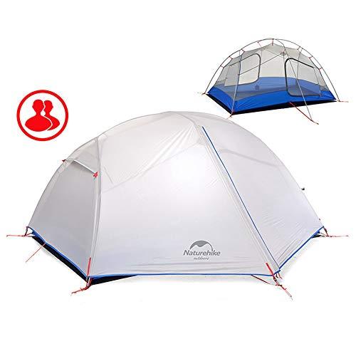 復活させる風邪をひく乱すNatureHike 1-2人用アウトドアキャンプ テント 二重層超軽量防水テント