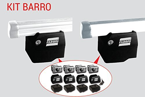 Fabbri Barras cambiador Kit 3/barras con antirrobo Barro System para furgonetas a partir de 1994/al 2006
