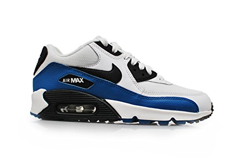 Nike Nike Air Max 1 (GS) - Zapatillas para niño white black military blue neutral grey 148