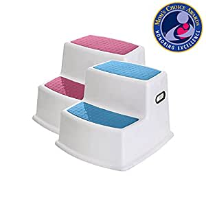 Amazon Com 2 Step Stool For Kids 2 Pack Toddler