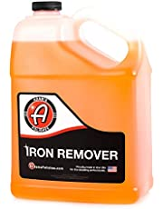 Adam's Iron Remover Gallon - Iron Out Fallout Rust Remover Spray for Car Detailing   Remove Iron Particles in Car Paint, Motorcycle, RV & Boat   Use Before Clay Bar, Car Wax or Car Wash