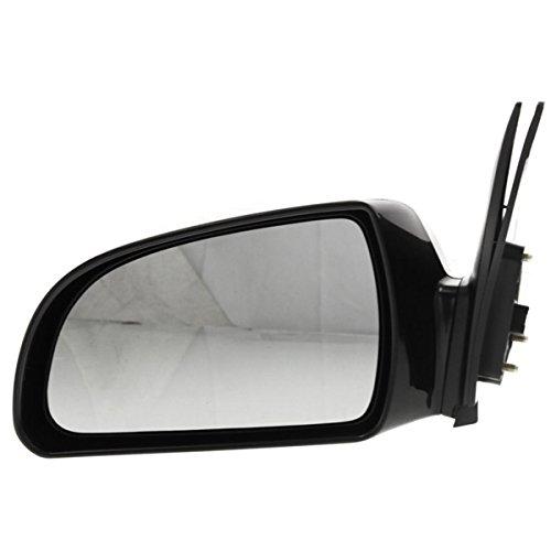 Fits 2006 2007 2008 2009 2010 Hyundai Sonata Power Heated Smooth Black Rear View Mirror Left Driver Side (06 07 08 09 10)