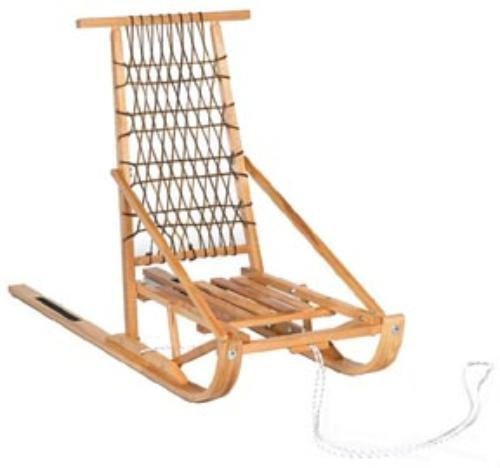 Wooden Foldable Dog Sled Kicksled by Excursions