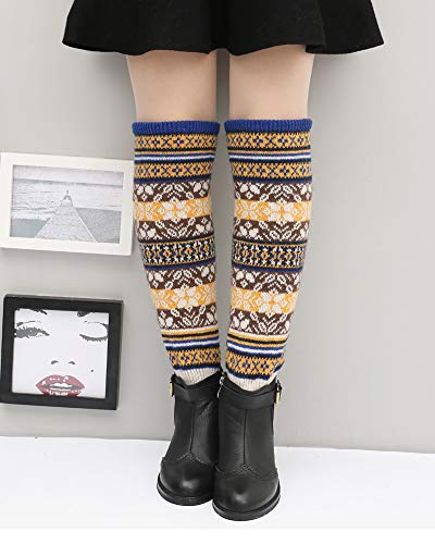 Knee High Socks Winter Boot Leg Warmers