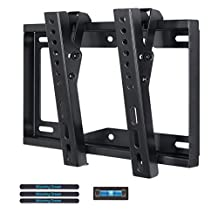 Mounting Dream MD2268-S TV Wall Mount Tilting Bracket for Most 17-42 Inch TVs up to VESA 200 x 200mm and 44 LBS Loading Capacity