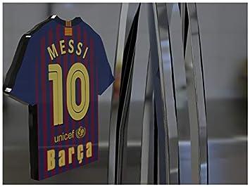 Imán para frigorífico con diseño de camiseta de fútbol de la primera división de la Liga Española, material acrílico, personalizable, plástico, Fc Barcelona ...