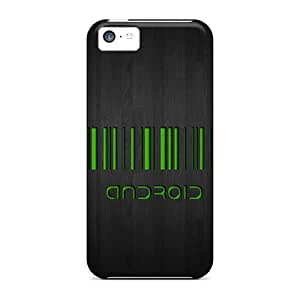 Tpu Case For Iphone 5c With Android Barcode