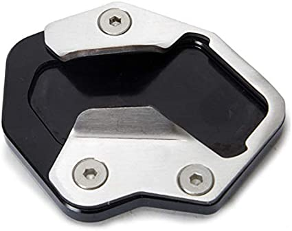 ACAMPTAR Soporte de Pie Soporte de Extensi/óN de Placa de Apoyo Almohadilla para Triumph Tiger XC 800 800Xc 800Xrx Modelos 13-19 Accesorios de Motocicleta