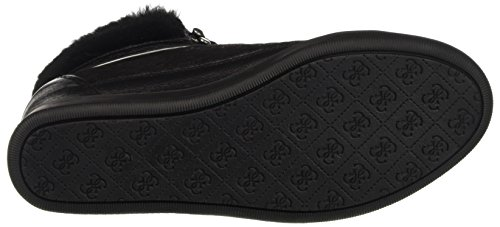 Guess Women's Furr High Trainers Black Size: 3.5 sf0udNB7Dd