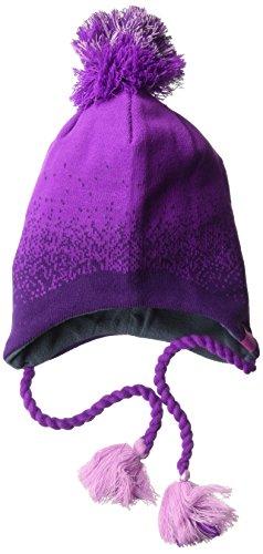 Under Armour Girls' Tassel Beanie, Purple Rave/Indulge, One Size