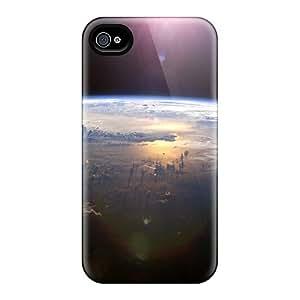 Jesussmars DpUxpXk6147RxIDT Case Cover Iphone 4/4s Protective Case Beautiful Space