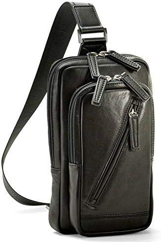 平野鞄 ショルダーバッグ 本革 メンズ 斜めがけ 馬革 レザー 軽量 旅行 ボディーバック 25cm +オリジナル高級ムートングローブ