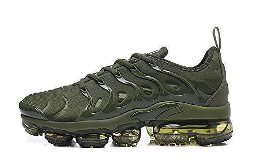 - MINGLI Liming Men's Air TN Vapormax Flyknit Running Shoes (8M US, Green)