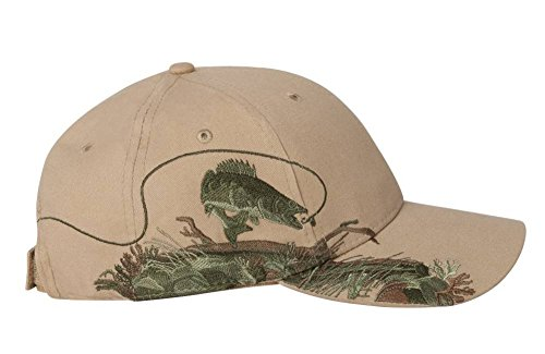 Dri Duck 3269 Walleye Cap - Khaki -One - Dri Trout Duck