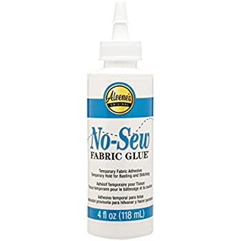 Aleene's No-Sew fabric Glue 4oz