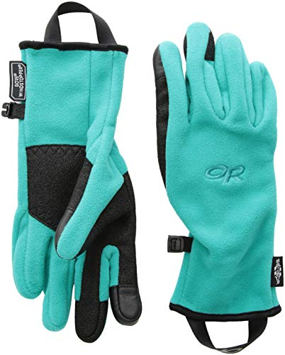Outdoor Research Women's Gripper Sensor Gloves, Sea, Small