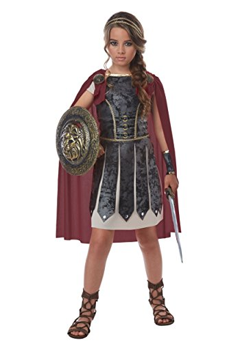 California Costumes Roman Hercules Fearless Gladiator Girls