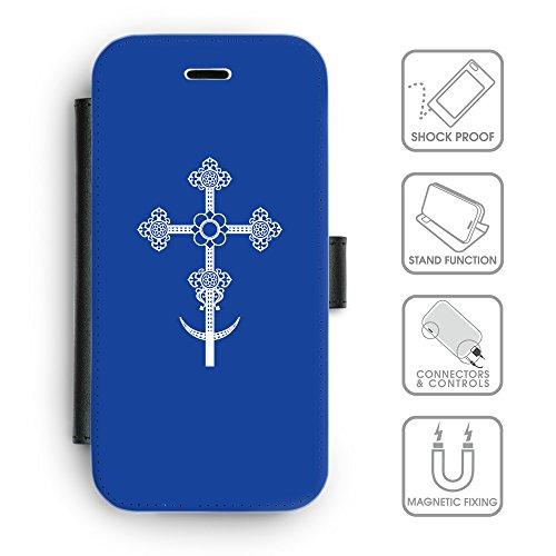 GoGoMobile Coque de Protection TPU Silicone Case pour // Q09280606 Croix chrétienne 38 Arsenic // Apple iPhone 5 5S 5G SE