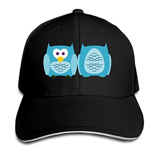 (Peaked hat Owl Bird Plumage Feather Birds Adjustable Sandwich Baseball Cap Cotton Snapback)