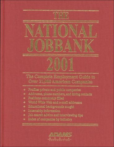 Download The National Jobbank 2001 pdf epub