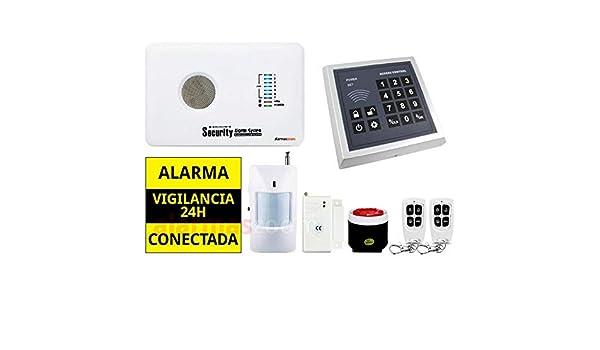 Pack alarma sin cuotas para casa Teclado control accesos ...