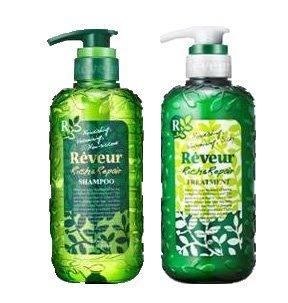 New Reveur new Revuru Rich & Repair Shampoo N & N treatments set each 500ml