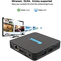 QINTAIX Q28 Android 7.1 TV box Rockchip RK3228 2G+8G Quad Core 4K HDR TV Box Streaming Media Player
