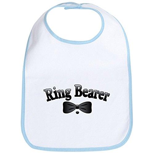 CafePress - Ring Bearer Bib - Cute Cloth Baby Bib, Toddler Bib