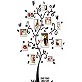 Happy Memory Tree Photo Frame Wall Stickers For Kid Room Wall Decals Diy Wall Decoration [6031]