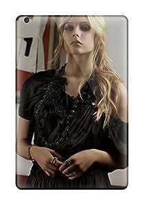 High Grade Matt L Morrow Flexible Tpu Case For Ipad Mini/mini 2 - Celebrity Avril Lavigne