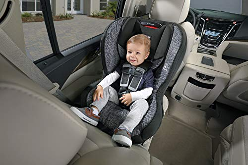 Britax Allegiance 3 Stage Convertible Car Seat - 5 to 65 Pounds - Rear & Forward Facing - 1 Layer Impact Protection , Static