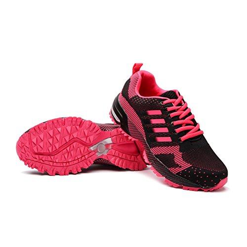 Donna Rosso Sneakers Rosa Estive wealsex Trekking Ginnastica Rosa Porpora Sportive Scarpa Running Scarpa SOdOnqxz