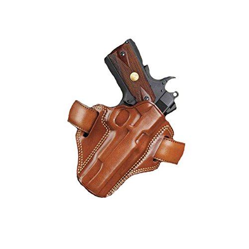 Belt Holster Colt - Galco Combat Master Belt Holster for 1911 4-Inch, 4 1/4-Inch Colt, Kimber, Para, Springfield, Smith (Tan, Right-hand)