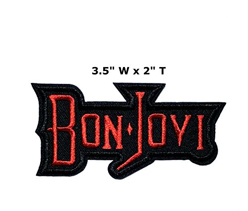 Bon Jovi Red Text - 3.5