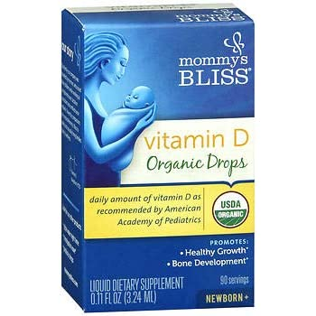 Amazon Com Mommy S Bliss Baby Vitamin D Organic Drops